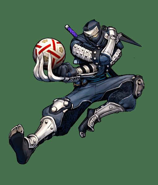 Dodgeball Rising Character Poster Ninja
