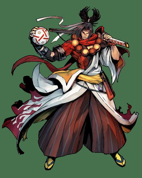 Dodgeball Rising Character Poster Samurai