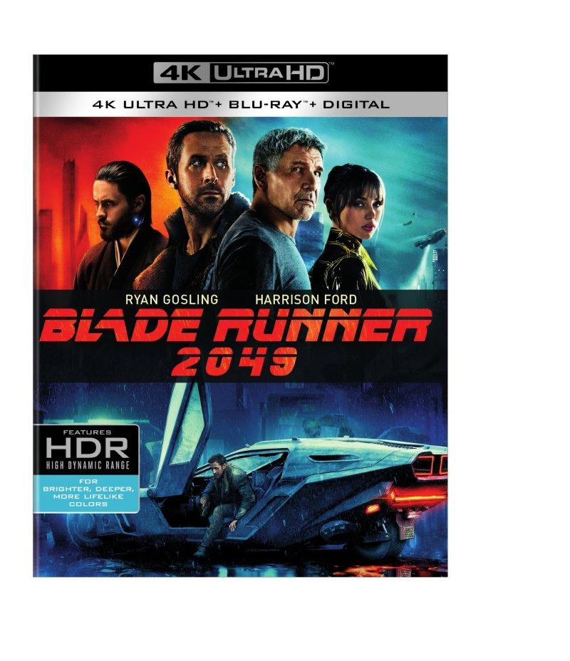 Blade Runner 2049 4K Ultra HD/Blu-Ray/Digital HD (Warner Bros. Home Entertainment)