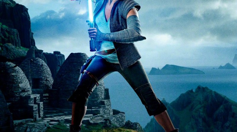 Star Wars: The Last Jedi Rey still used for poster (Lucasfilm/Disney)