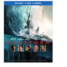 Geostorm Blu-Ray/DVD/Digital HD cover (Warner Bros. Home Entertainment)