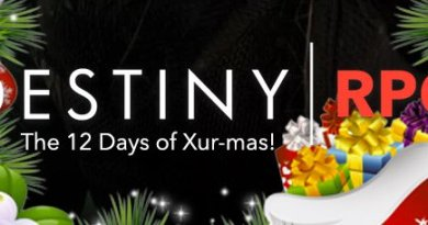 The 12 Days of Xur-mas is now Live at Destiny RPG!