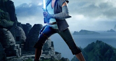 Star Wars: The Last Jedi Rey poster (Lucasfilm/Disney)