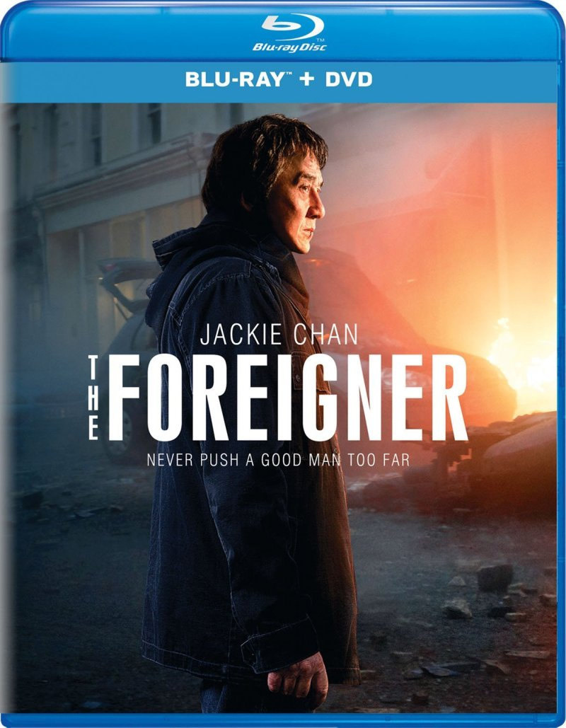 The Foreigner Blu-Ray combo pack (Lionsgate Home Entertainment)