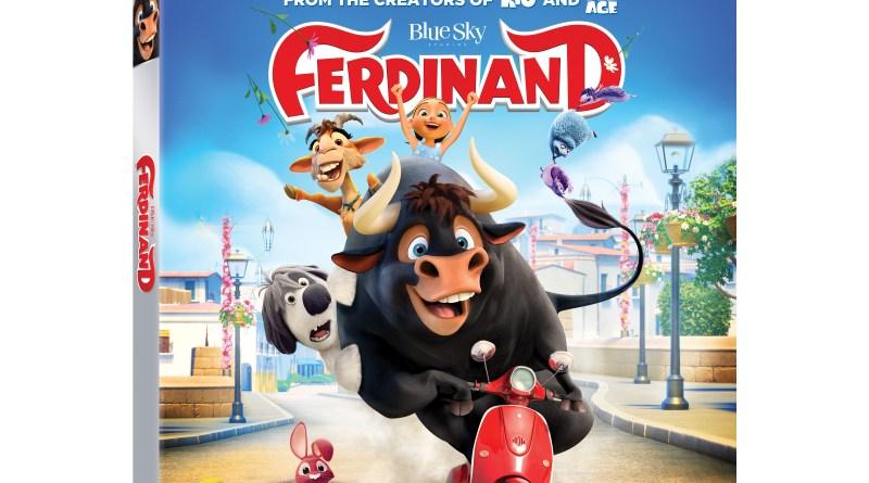 Ferdinand 4K Ultra HD Combo cover (20th Century Fox Home Entertainment)