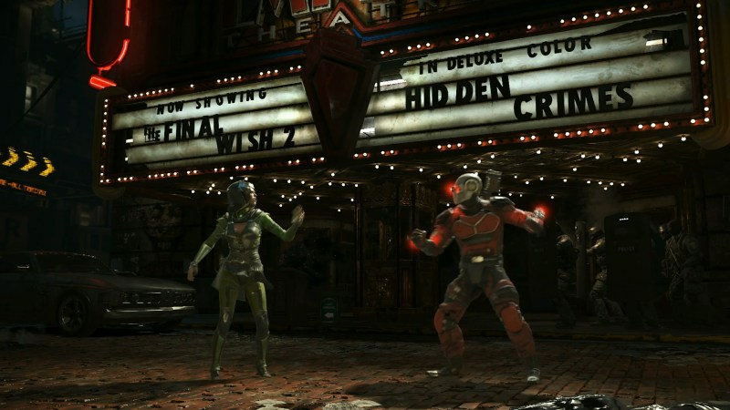 Injustice 2 Fighter Pack 3 screencaps (Warner Bros. Interactive Games)