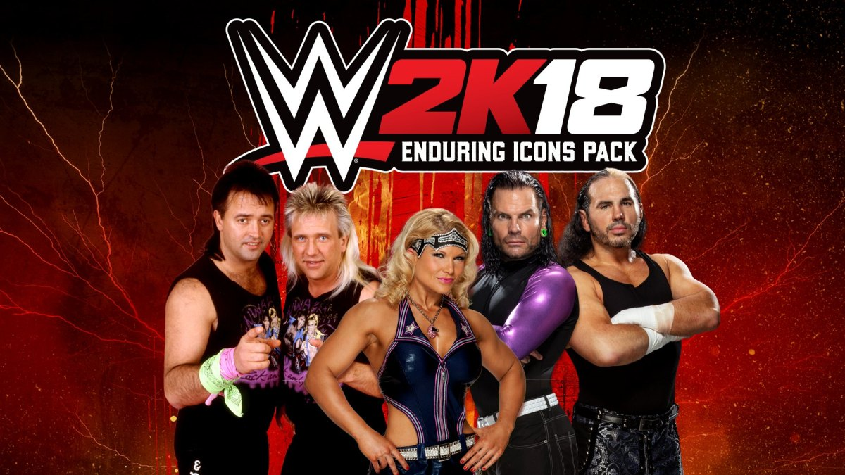 WWE 2K18 Enduring Icons Pack Available NOW!