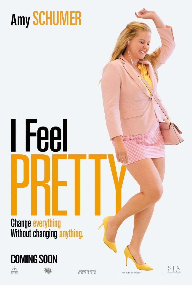 I Feel Pretty poster (STX Films/STX Entertainment)