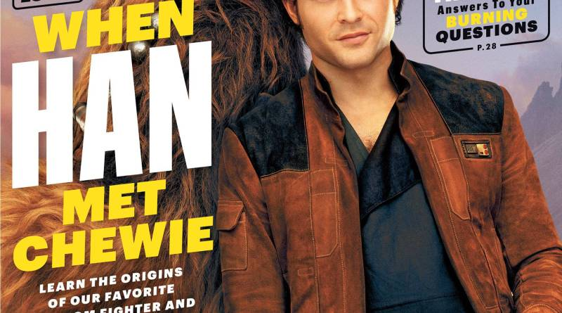 Solo: A Star Wars Story Entertainment Weekly cover