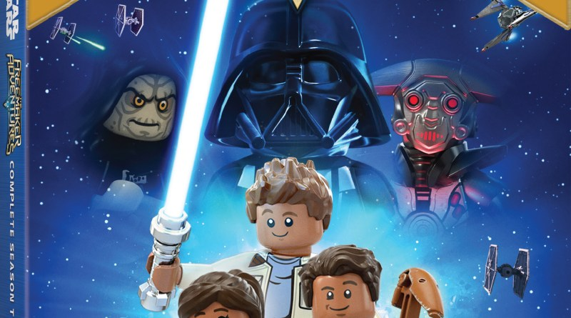 LEGO Star Wars: The Freemaker Adventures Complete Season Two DVD cover (Lucasfilm)