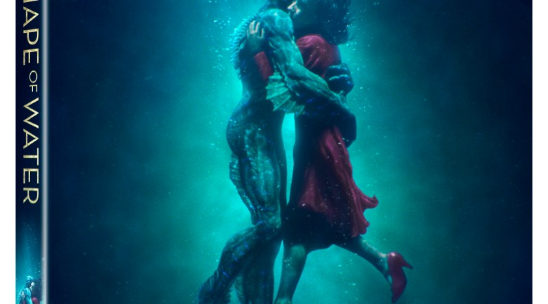 The Shape Of Water Blu-Ray Combo cover (20th Century Fox Home Entertainment)