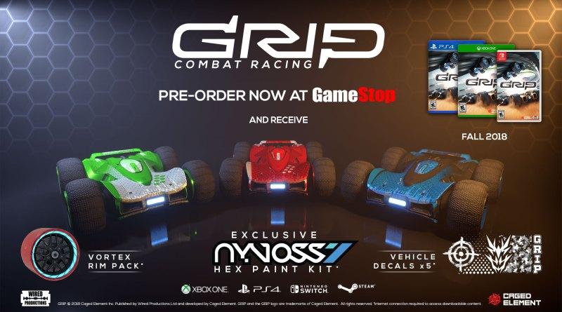 GRIP: Combat Racing Xbox Game Pass News And Nintendo Switch
