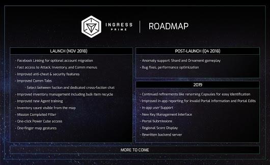 Niantic Reveals Ingress Prime Developer Roadmap! | Nothing But Geek