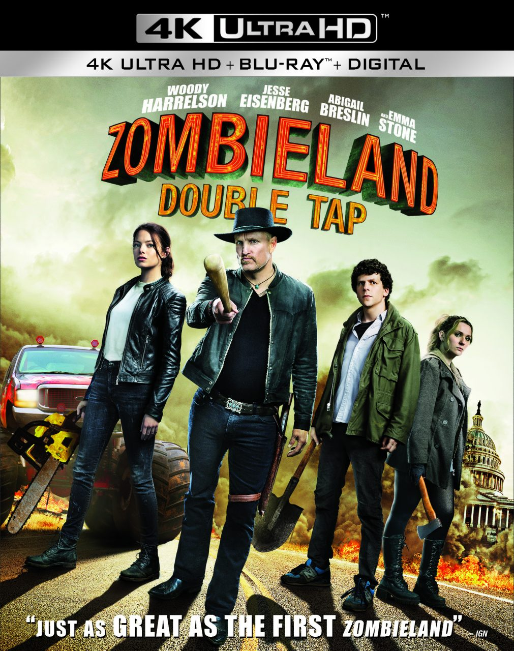 Zombieland: Double Tap Home Release Information | Nothing But Geek