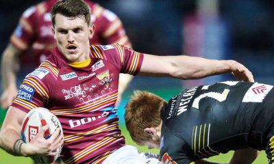 Huddersfield Giants centre Lee Gaskell