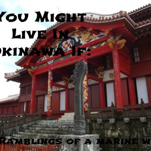 You Might Live in Okinawa If…
