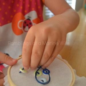 Hoop Art Crafts