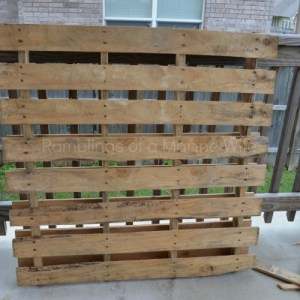 Crafting With Wood Pallets – DIY Pallet Star