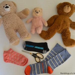 DIY No Sew Teddy Bear Clothes