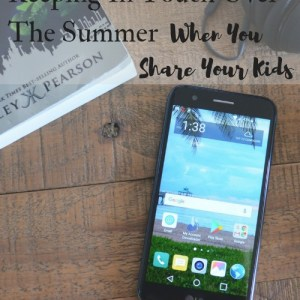 Keeping In Touch Over The Summer When You Share Your Kids