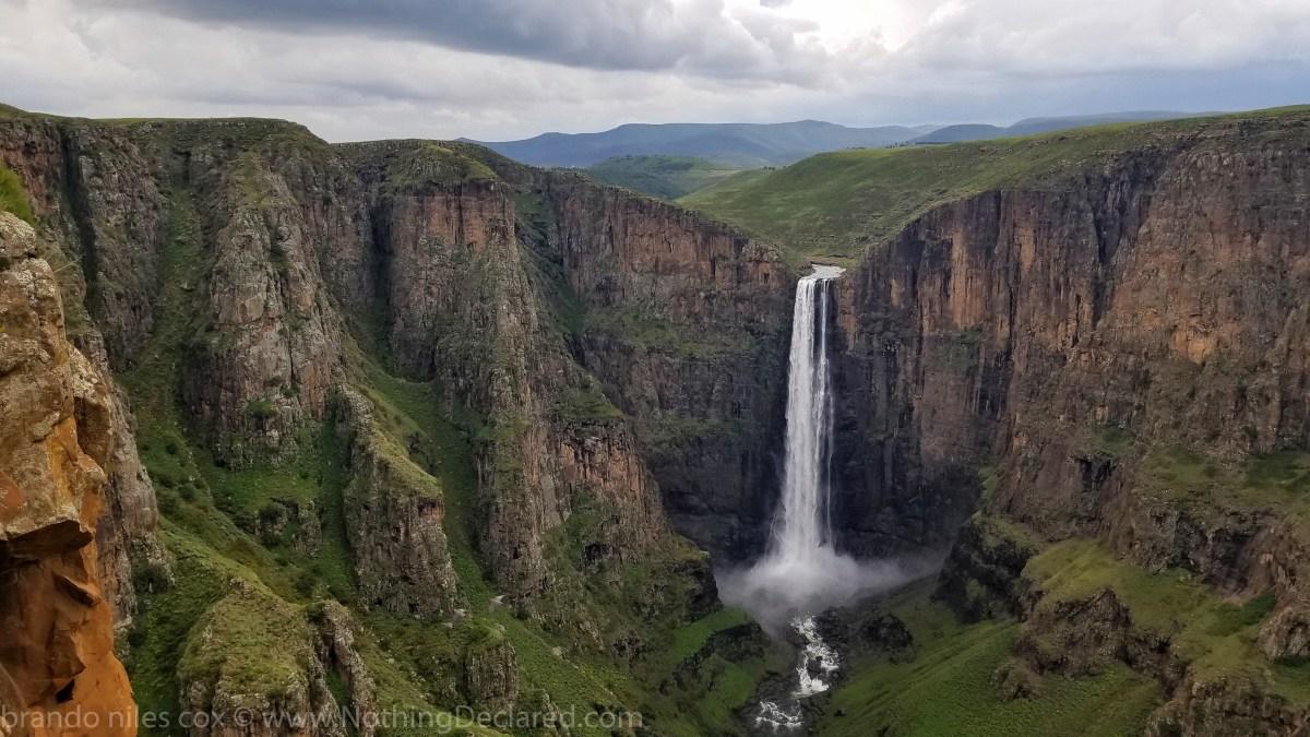 Maletsunyane Falls (Semonkong Waterfall) Lesotho - Nothing Declared - Photo: Brandon Cox