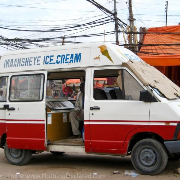 Ice Cream truck, Hargeisa Somalia