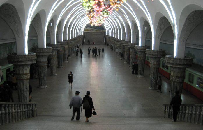 Pyongyang, Subway - North Korea