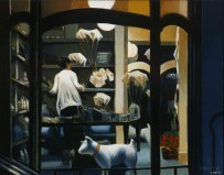 Closing Time, Ebury Road/ Egg tempera (c) A. Belov