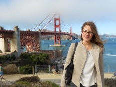 My very first time at the Golden Gate Bridge