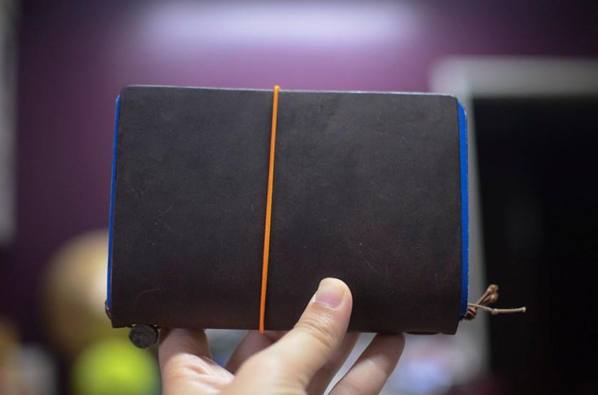 Midori Travelers Notebook - Brown - Field Notes - Too Big