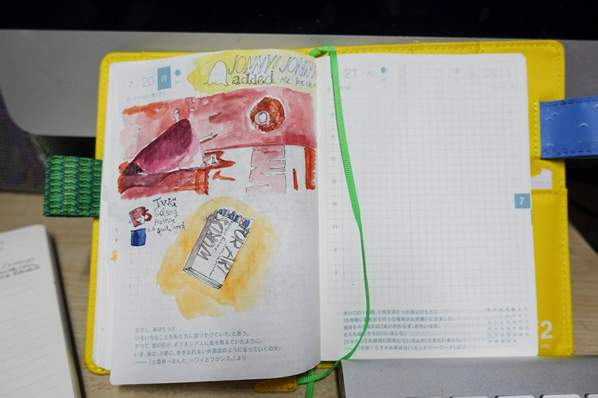 Hobonichi - July20