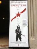 Poster outside Clemente Soto Velez