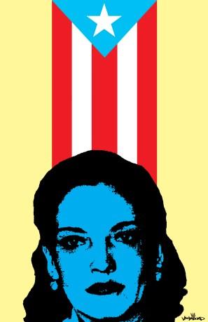 Lolita Lebron Poster by vagabond ©
