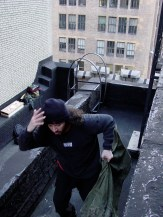 Running off the roof