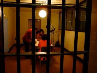 The prison set