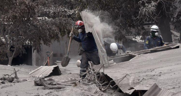 Guatemala: Volcán de Fuego no da respiro