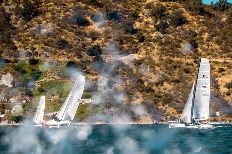 Nacional de veleros Melges24 en Rapel