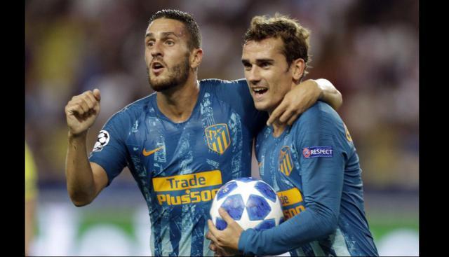 Champions League: Atlético de Madrid y Dortmund lideran el Grupo A