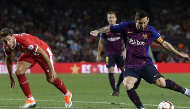Barcelona empató como local 2-2 ante Girona