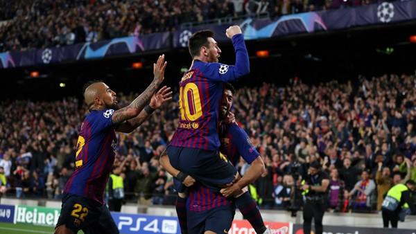 De la mano de Messi. Barça acaricia la Final de la Champions