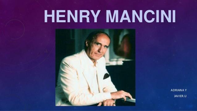 """Sección: """"Éxitos en el tiempo"""", con José Manuel Estevanot. Henry Mancini"""