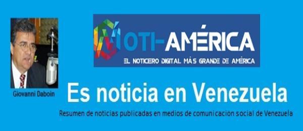 """Sección: """"Es noticia en Venezuela"""", por Giovanni Daboin"""