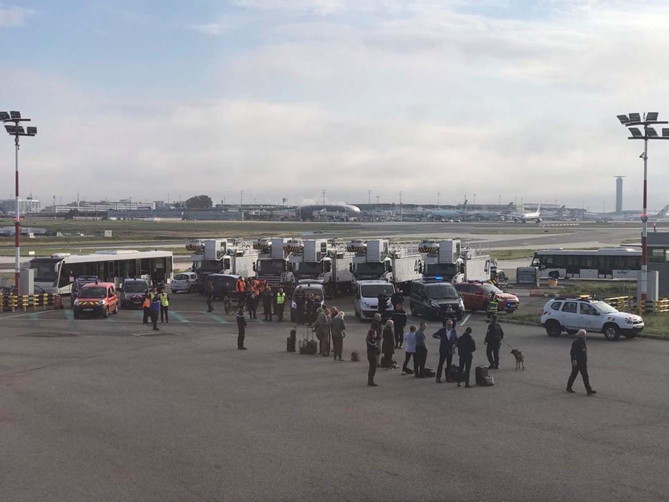 Pánico en París: Evacuaron avión de British Airways con destino a Londres por amenaza de bomba