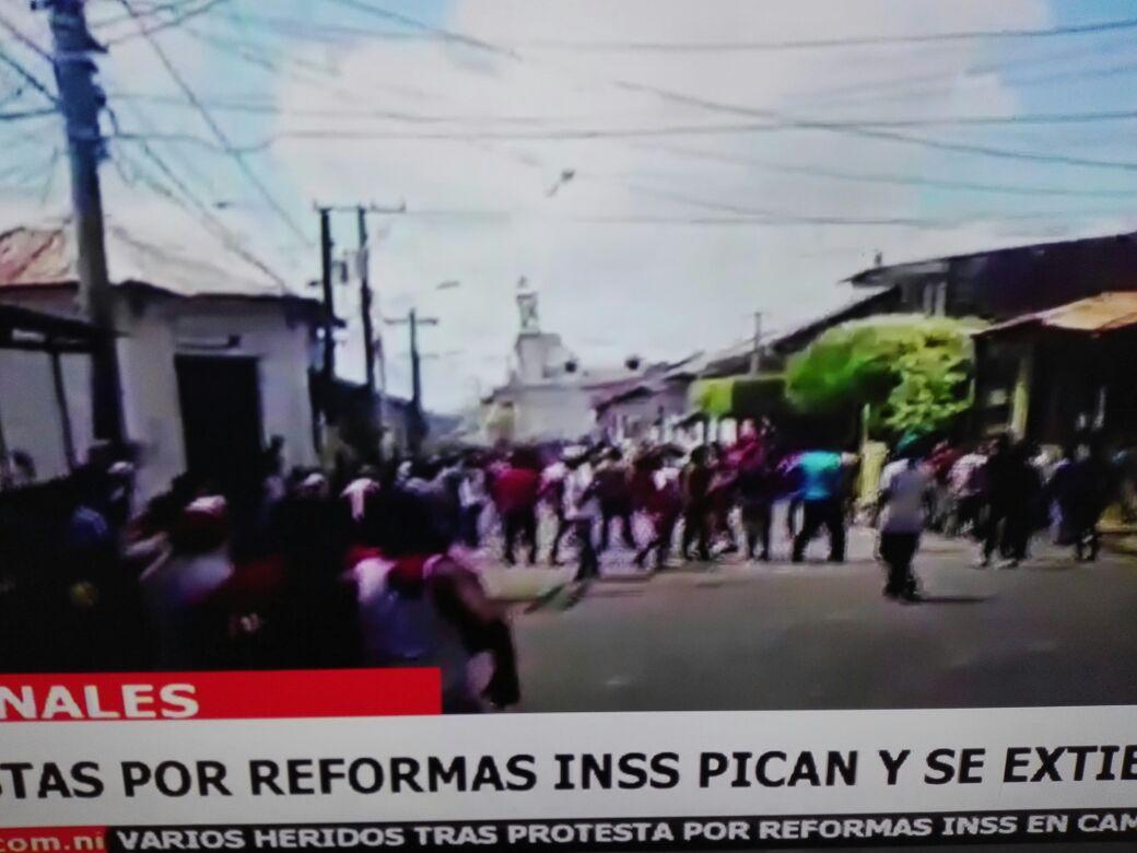 Caos en Nicaragua por reforma del INSS (Fotos y Videos)