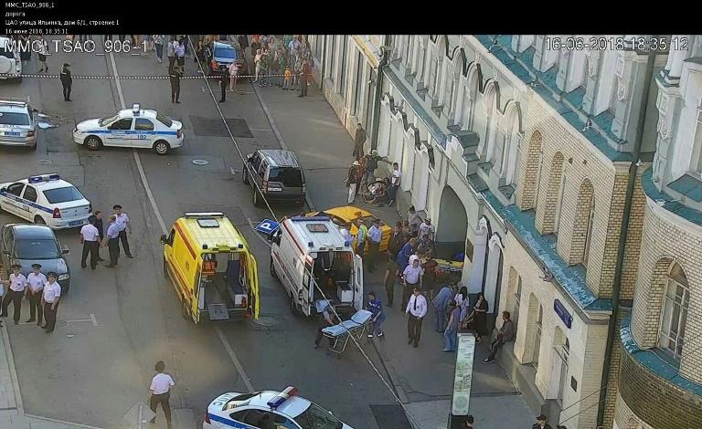 Un conductor de taxi detenido en Moscú tras atropellar a 7 personas accidentalmente