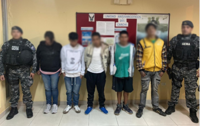 "En operativo ""Avalancha 264"" se desarticuló organización narcodelictiva"