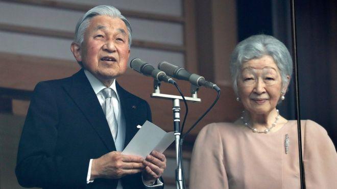 El emperador de Japón se despide emocionalmente