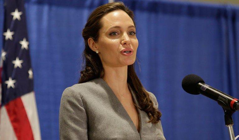 Angelina Jolie sugiere su posible participación en la política