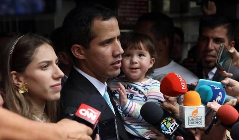 Guaidó denunció la detención de dos miembros de su equipo de seguridad
