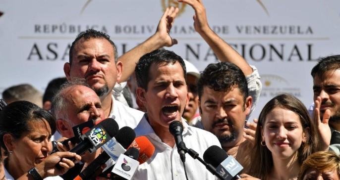 Habla Guaidó, el proclamado «presidente de Venezuela» tras su detención